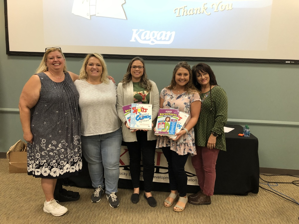 JOHNSON COUNTY MIDDLE SCHOOL STUDENT TEACHERS ATTEND KAGAN BRAIN FRIENDLY TRAINING
