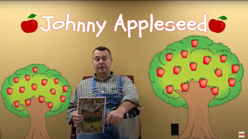 Johnny Appleseed-  Read by Superintendent Thom Cochran