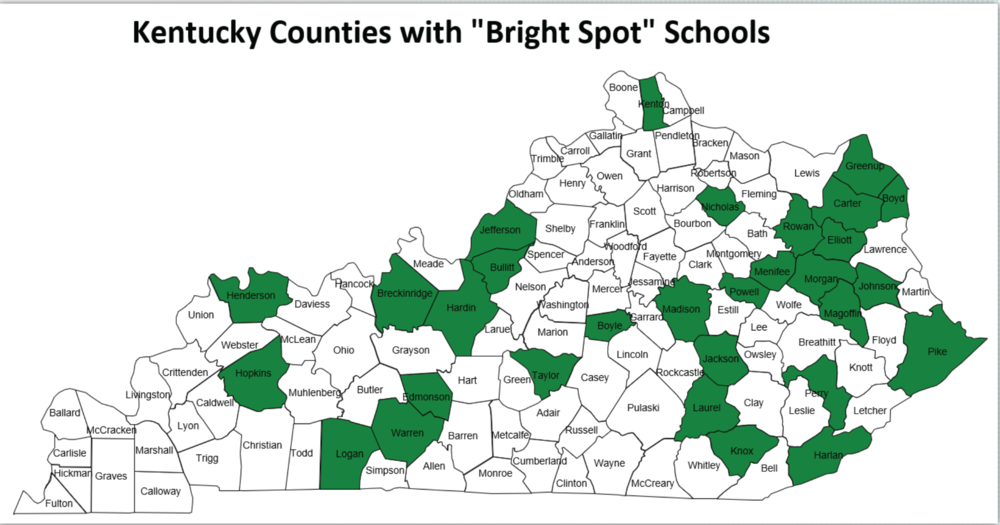 Kentucky Public Schools as Educational Bright Spots