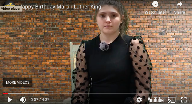 Martin Luther King Jr.  Read Aloud