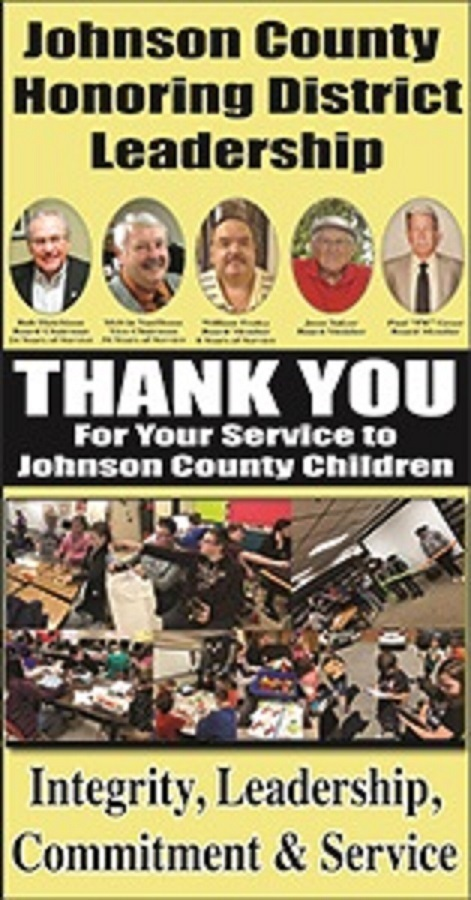 Johnson County Schools Celebrate Board Appreciation Month