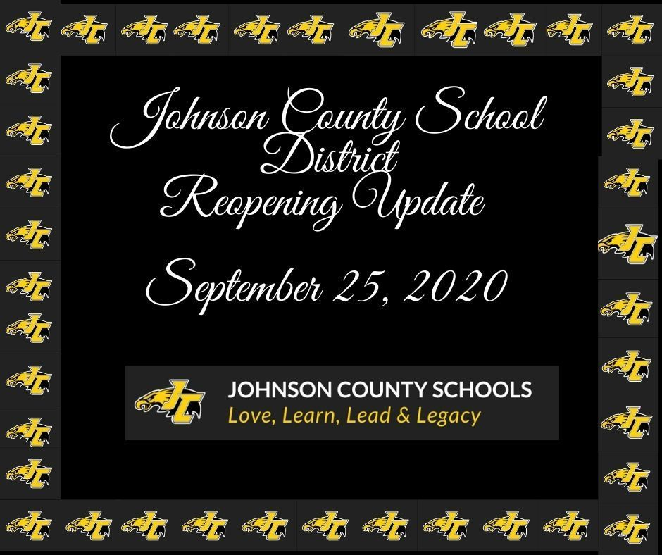 Johnson County School District Reopening Update