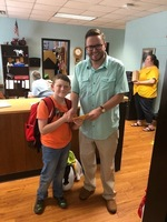 CES student receives JCHS Football season tickets