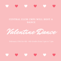 CmPS will host a Valetine's Dance