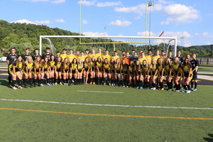 Eagles Sweep Tigers in Soccer Doubleheader