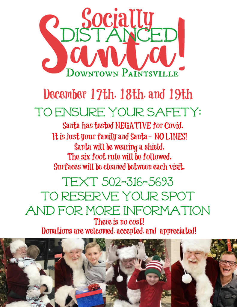 Come visit Santa and get in the holiday spirit!