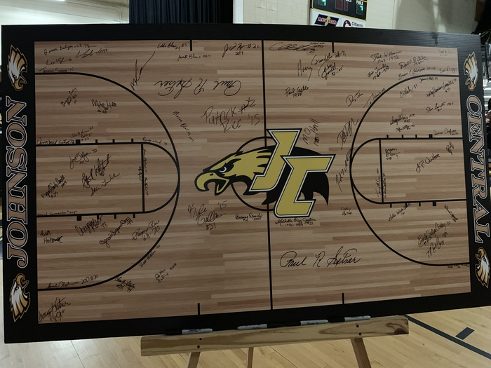 JC Eagle signature board