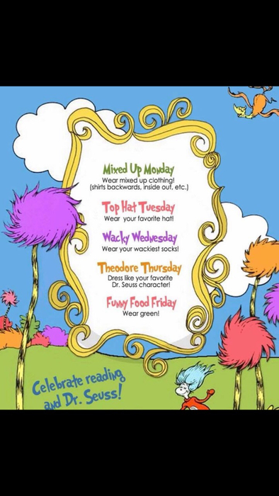 Read Across America spirit week!