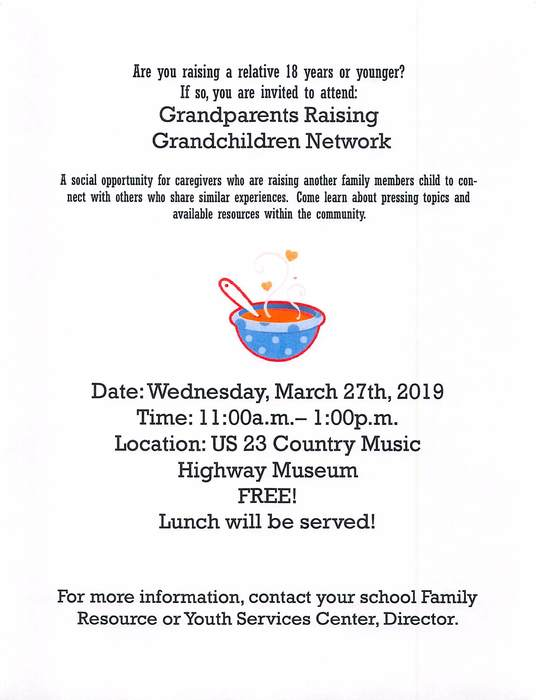 Grandparents Support Meeting