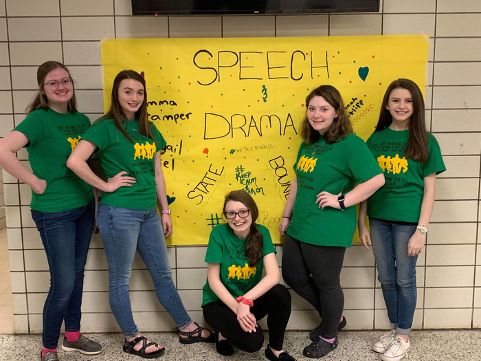 Speech and drama state bound