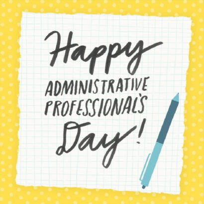 Admin Professionals Day