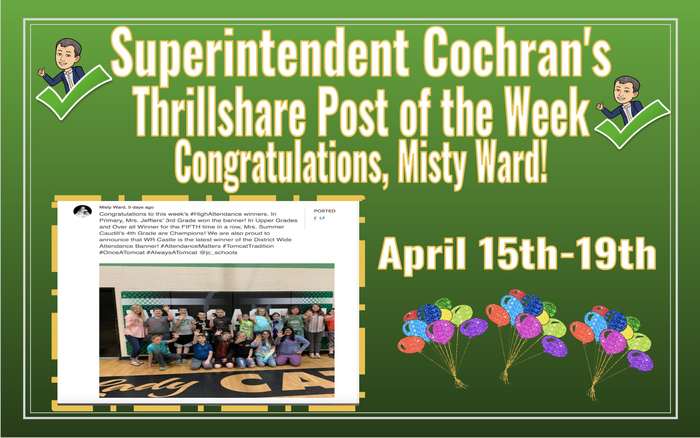 Misty Ward-Thrillshare Post of the Week