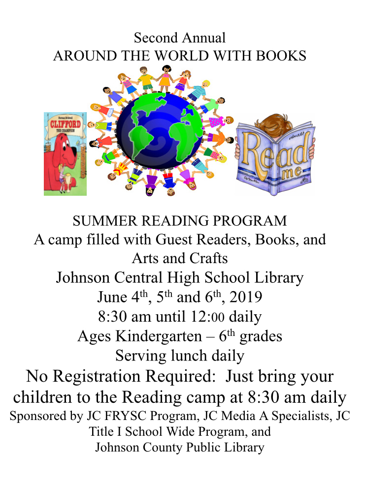Summer Reading Camp June 4th - 6th📚📚📚