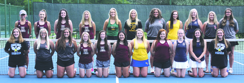 2019 Girls Ashland Daily All Area Tennis
