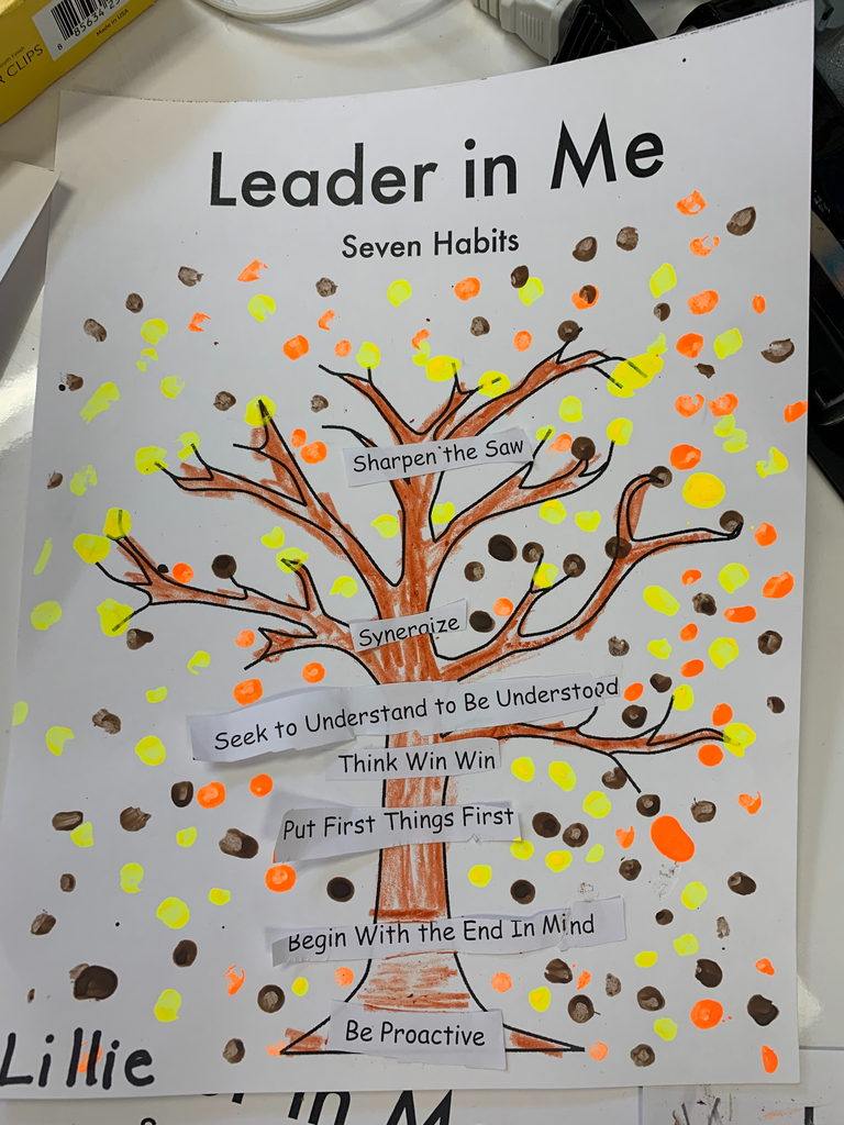 Leader In Me Tree