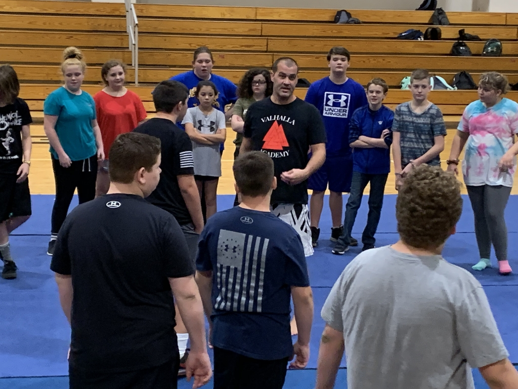 Mr. Josh Stepp of East KY Combat instructed Life Skills classes on self defense techniques.