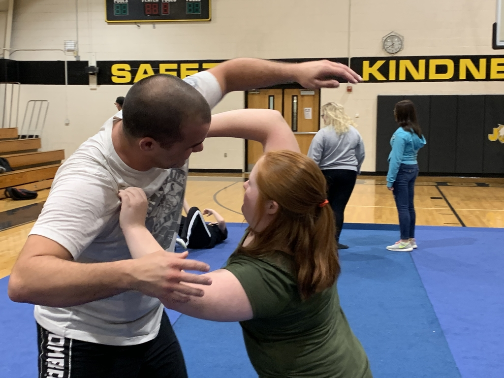 Mr. Josh Stepp of East KY Combat instructs Life Skills classes on self defense techniques .
