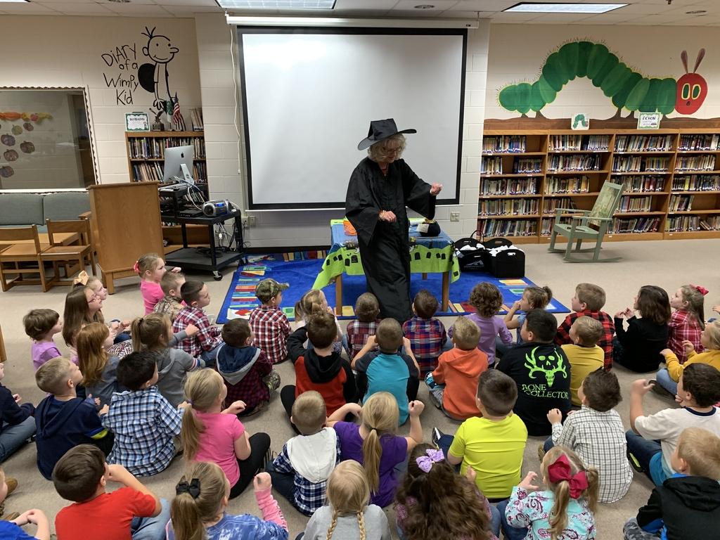 Thank you Mrs. Patton for entertaining kindergarten with the Witches Brew! We loved it!