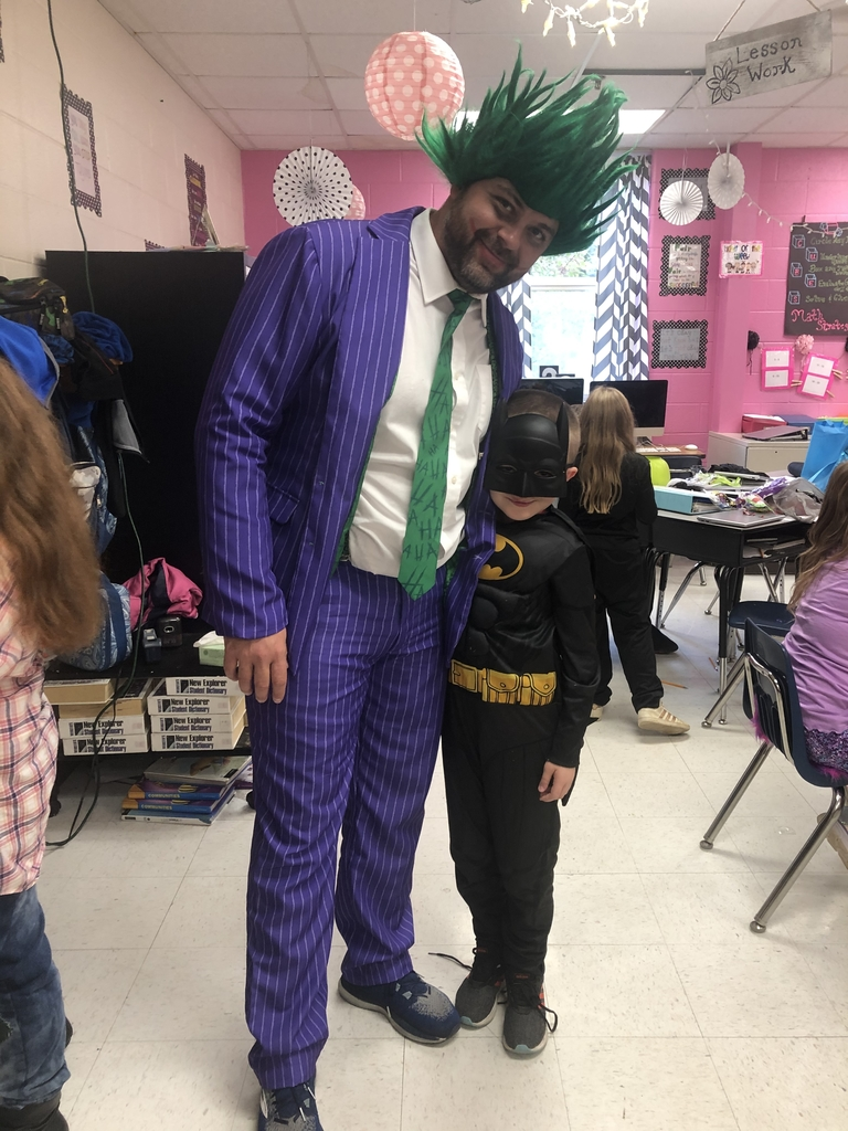 Batman and the Joker!