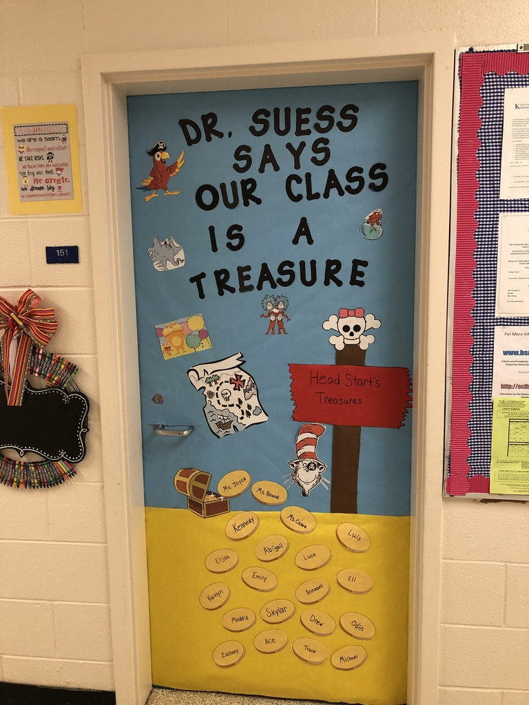 Dr Seuss says our class is a treasure!