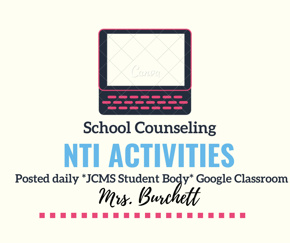 NTI Day 9 - School Counseling Activity